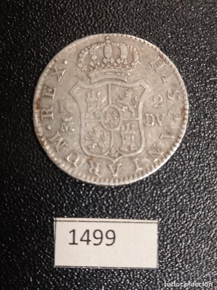 Monedas de España: España 2 reales 1785 Madrid - Foto 2 - 253578300