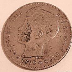 Monedas de España: 1 PESETA DE PLATA DE 1899 DE ALFONSO 13. Lote 253748030