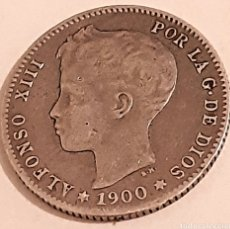 Monedas de España: BONITA 1 PESETA DE PLATA DE 1900 DE ALFONSO 13. Lote 253748280