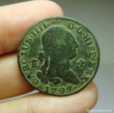 Monedas de España: 4 MARAVEDÍS. CARLOS IV. SEGOVIA - 1797. Lote 254259520