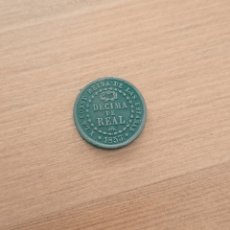 Monedas de España: DÉCIMA DE REAL. ISABEL II. 1853 MBC+. Lote 254280205