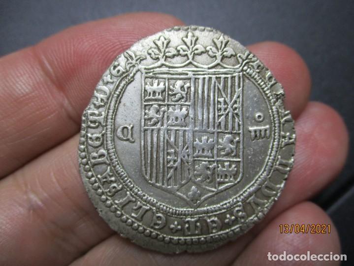 EXTREMADAMENTE RARA 4 REALES DE CUENCA DE LOS REYES CATOLICOS (Numismática - España Modernas y Contemporáneas - De Reyes Católicos (1.474) a Fernando VII (1.833))