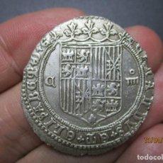 Monedas de España: EXTREMADAMENTE RARA 4 REALES DE CUENCA DE LOS REYES CATOLICOS. Lote 254296300