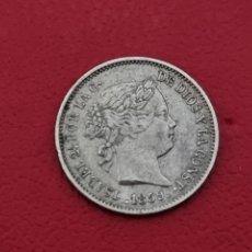 Monedas de España: 1 REAL PLATA 1859 LA DE LA FOTO VER. Lote 254586415