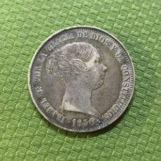 Monedas de España: 20 REALES DE 1850, MADRID CL. (ESCASA) ORIGINAL. Lote 254713335