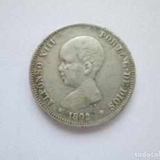 Monedas de España: ALFONSO XIII * 2 PESETAS 1892*92 PG M * PLATA. Lote 254907300