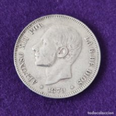 Monedas de España: MONEDA DE 2 PESETAS DE ALFONSO XII. PLATA. 1879 *_-79. ESPAÑA. ORIGINAL.. Lote 254940370