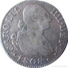 Monedas de España: ESPAÑA, CARLOS IV (1788-1808) 2 REALES DE 1808 MADRID AI. CT-856./ PLATA.(VER DESCRIPCIÓN Y ...).. Lote 255004885