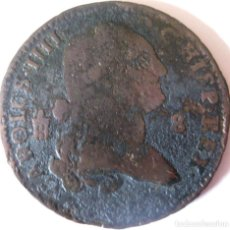 Monedas de España: ESPAÑA, CARLOS IV (1788-1808) 8 MARAVEDÍS (SIN FECHA) SEGOVIA. (VER DESCRIPCIÓN Y FOTOS).. Lote 255009075