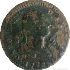Monedas de España: ESPAÑA, CARLOS IV (1788-1808) 2 MARAVEDÍS - 1798 SEGOVIA, CAL-1531. (VER DESCRIPCIÓN Y FOTOS).. Lote 255017115