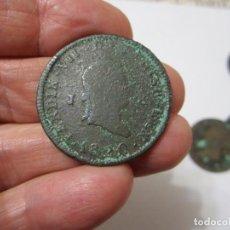 Monedas de España: MONEDA DE 8 MARAVEDIES DE FERNANDO VII DE 1820 (JUBIA). Lote 255018720