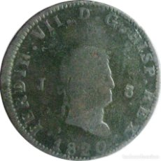 Monedas de España: ESPAÑA, FERNANDO VII (1808+1814/33) 8 MARAVEDÍS 1820 JUBIA, CAL-1554 (VER DESCRIPCIÓN..... Lote 255377805