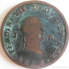 Monedas de España: ESPAÑA, FERNANDO VII (1808+1814/33) 8 MARAVEDÍS,1821 - JUBIA, CAL-1555 (VER DESCRIPCIÓN..... Lote 255379700