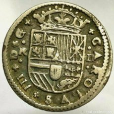Monnaies d'Espagne: CARLOS III ( PRETENDIENTE) 2 REALES 1711 BARCELONA. PLATA. Lote 255427570