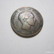 Monedas de España: MONEDA DE 10 CÉNTIMOS DE 1877 DE ALFONSO XII. Lote 255442340