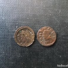 Monedas de España: CONJUNTO DE DOS DINERETS BARCELONA 1710 FELIPE IV VER FOTOS. Lote 255528905