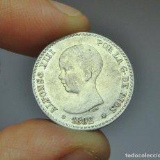 Monedas de España: 50 CÉNTIMOS. PLATA. ALFONSO XIII. 1892 - PGM *9 *2. Lote 257523755