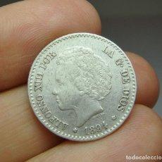 Monedas de España: 50 CÉNTIMOS. PLATA. 1894 - PGV *9 *4. Lote 257525430