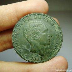 Monedas de España: 10 CÉNTIMOS. ALFONSO XII. 1877. EBC++. Lote 257525940