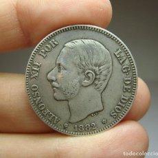 Monedas de España: 2 PESETAS. PLATA. ALFONSO XII. 1882. Lote 257526505