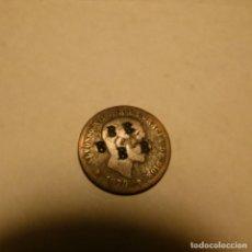 """Monedas de España: MONEDA DE 5 CENTIMOS DE ALFONSO XII CON RESELLO 5 """"B"""". Lote 257541360"""
