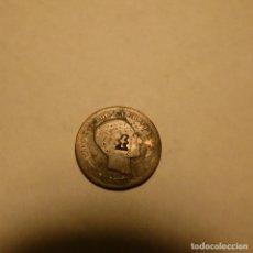 """Monedas de España: MONEDA DE 5 CENTIMOS DE ALFONSO XII RESELLO """"F"""". Lote 257542225"""