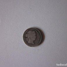 Monedas de España: REAL DE ISABEL II. BARCELONA. 1858. PLATA.. Lote 257652220