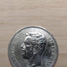 Monedas de España: 5 PESETAS 1871, ESTRELLAS 18-74. (10). Lote 257689200