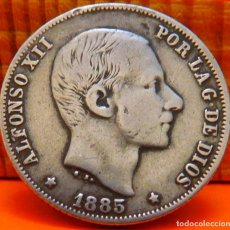 Monedas de España: ESPAÑA, 20 CENTAVOS DE PESO, 1885. ALFONSO XII. ISLAS FILIPINAS. PLATA. (1021). Lote 257875365