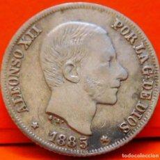 Monedas de España: ESPAÑA, 10 CENTAVOS DE PESO, 1885. ALFONSO XII. ISLAS FILIPINAS. PLATA. (1027). Lote 257887640