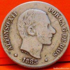 Monedas de España: ESPAÑA, 10 CENTAVOS DE PESO, 1885. ALFONSO XII. ISLAS FILIPINAS. PLATA. (1029). Lote 257888570