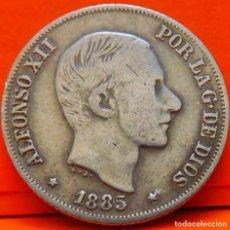 Monedas de España: ESPAÑA, 10 CENTAVOS DE PESO, 1885. ALFONSO XII. ISLAS FILIPINAS. PLATA. (1030). Lote 257888825