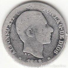 Monedas de España: ALFONSO XII: 10 CENTAVOS DE PESO 1882 MANILA - PLATA. Lote 259061855