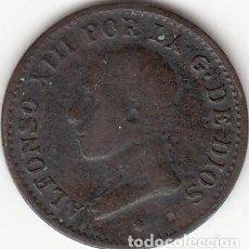 Monedas de España: ALFONSO XIII: 1 CENTIMOS 1913 MADRID PCV. Lote 259928130