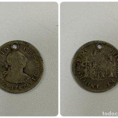 Monedas de España: MONEDA. CARLOS III. 1/2 REAL. 1787. MEXICO FM. VER FOTOS. Lote 260808350