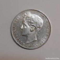 Monedas de España: MONEDA DE PLATA DE 1 PESETA DE 1899 18* 99* ALFONSO XIII. Lote 245259030