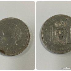 Monedas de España: MONEDA. ESPAÑA. ALFONSO XIII. 5 PESETAS. 1893. PLATA. MUY RARA. PGV. ESTRELLAS *18-XX*. VER. Lote 260819365