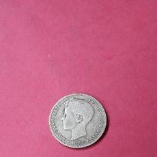 Monete da Spagna: 1 PESETA. ALFONSO XIII. 1902.ESCASA. Lote 261012155