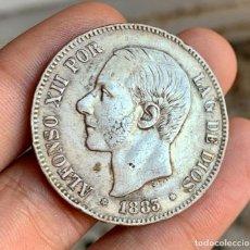 Monedas de España: ESPAÑA ALFONSO XII 5 PESETAS 1883 *18-*83 . PLATA. Lote 261559525