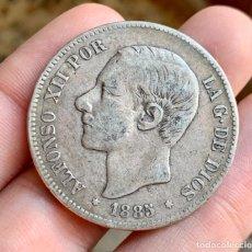 Monedas de España: ESPAÑA ALFONSO XII 5 PESETAS 1885. PLATA. Lote 261560740