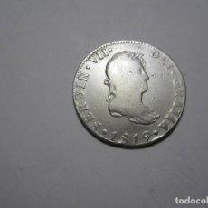 Monedas de España: MONEDA DE 2 REALES DE FERNANDO VII DE 1819 DE MÉJICO. Lote 261874410