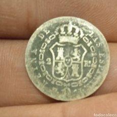 Monedas de España: MONEDA PLATA DE 2 REALES 1849 ISABEL II. Lote 261897295