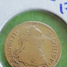 Monedas de España: ANTIGUA MONEDA DE ORO. MEDIO ESCUDO DE 1772..CAROL. III. CARLOS III. 1.8 GRAMOS DE ORO .M PJ. Lote 262016365