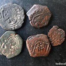Monedas de España: CONJUNTO DE 5 PIEZAS MARAVEDIS FELIPE IV 1640 'S. Lote 262171860