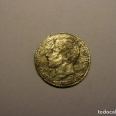 Monedas de España: MONEDA DE 1 PESETA DE PLATA, ALFONSO XII, AÑO 1883. DESGASTE MARINO.. Lote 262202420