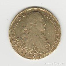 Monedas de España: CARLOS IV/IIII- 8 ESCUDOS-1804-NUEVO REINO-JJ. Lote 262240170