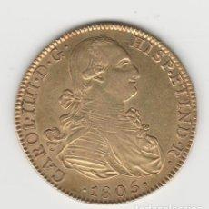 Monedas de España: CARLOS IV/IIII- 8 ESCUDOS-1805-MADRID-TH-SC-. Lote 262240260