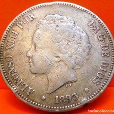Monedas de España: ESPAÑA, 5 PESETAS, 1893. ALFONSO XIII. PLATA. (1070). Lote 262326860