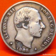 Monedas de España: ESPAÑA, 20 CENT DE PESO, 1885. ALFONSO XII. ISLAS FILIPINAS. PLATA. (1073). Lote 262328440