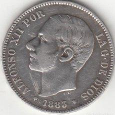 Monedas de España: ALFONSO XII: 5 PESETAS 1883 MSM ESTRELLAS 18 - 83 ( PLATA ). Lote 262425590